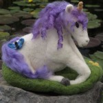Michief, Needle-felted Unicorn Music Box