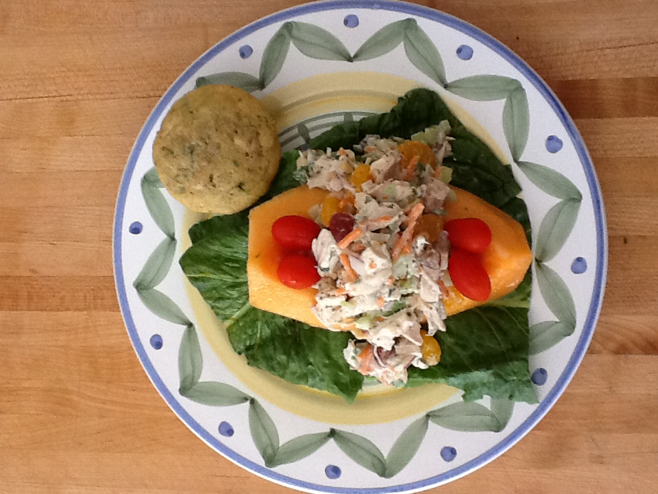 Chicken Salad with Pineapple Celery Seed Dressing