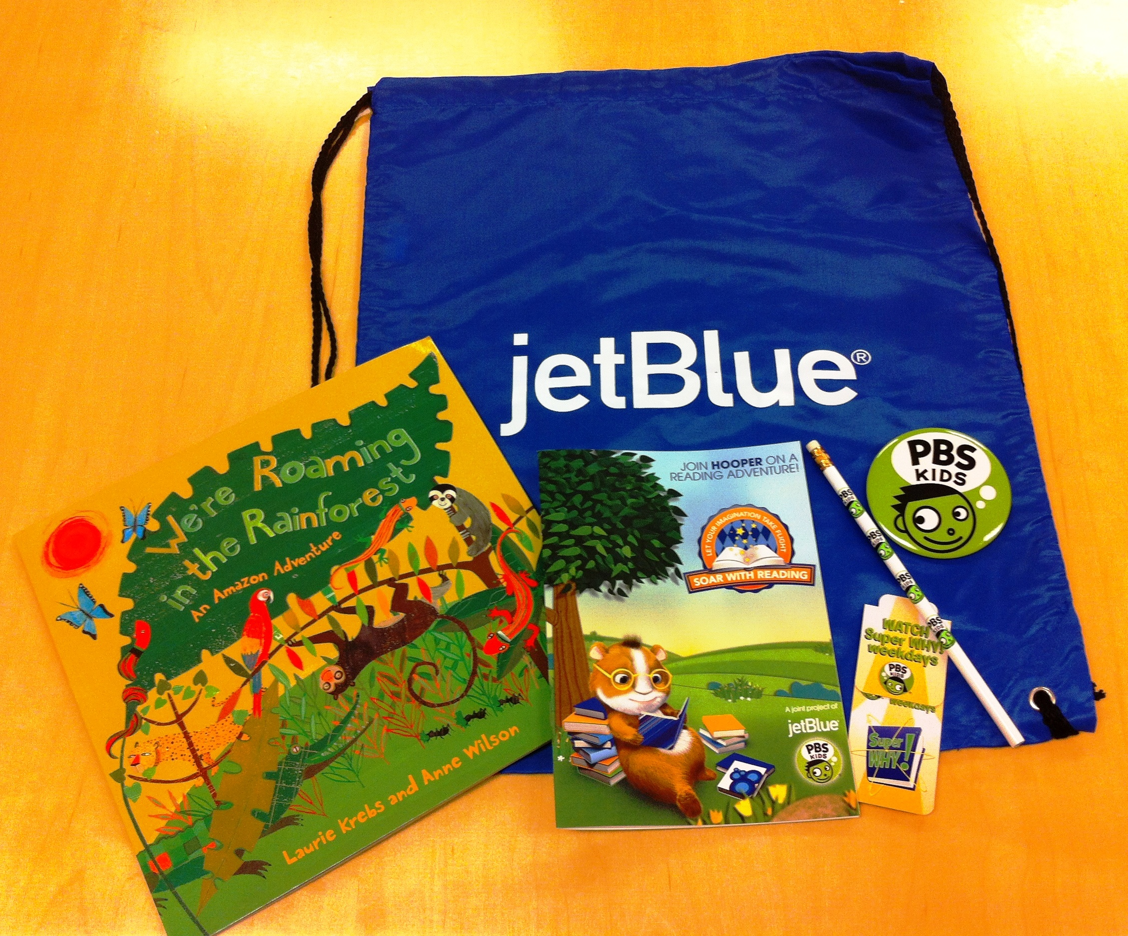 JetBlue and PBS Kids Soar with Reading Giveaway