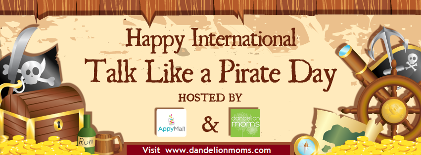 Talk Like a Pirate Facebook Party on September 19th!