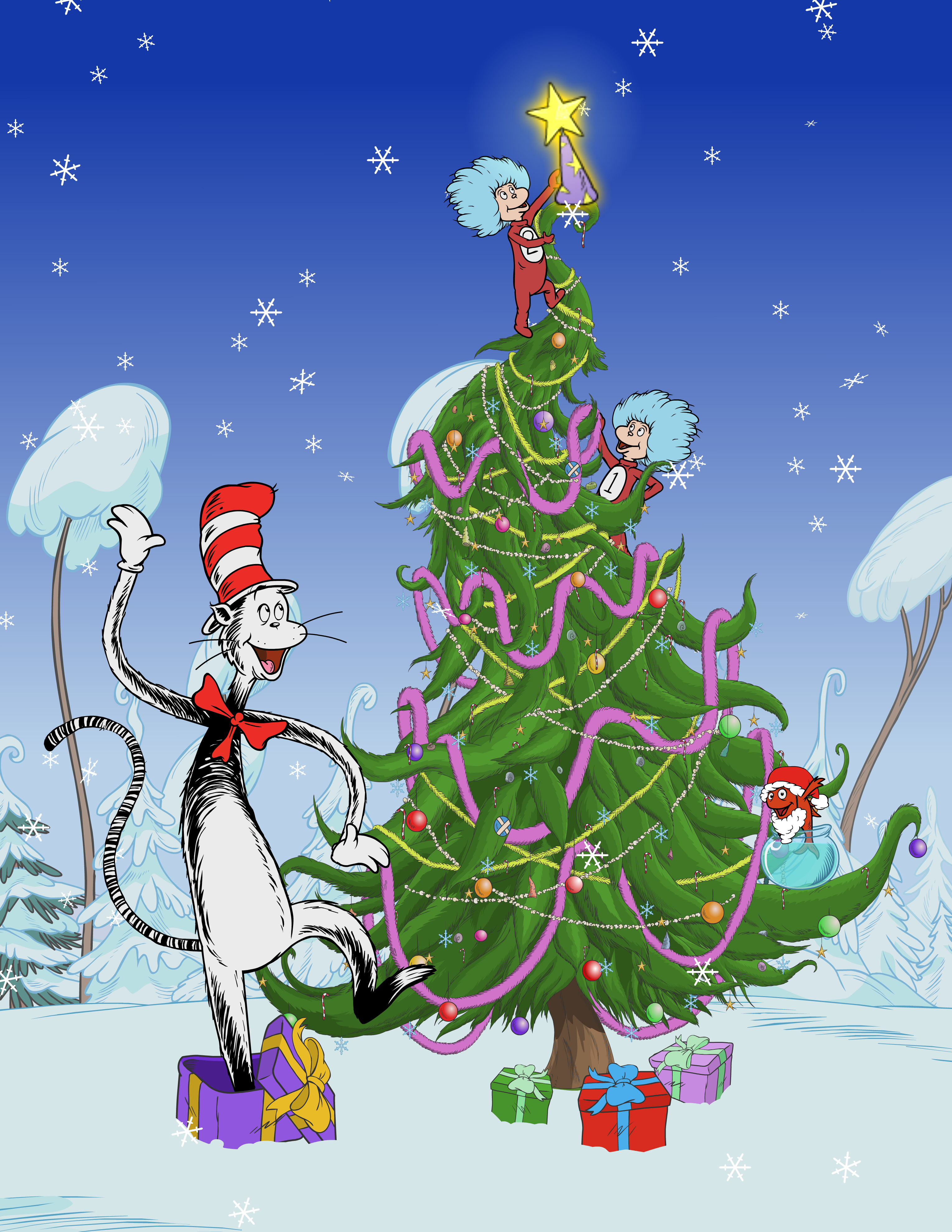 PBS Kids Cat in the Hat Christmas Special Airs November 21st
