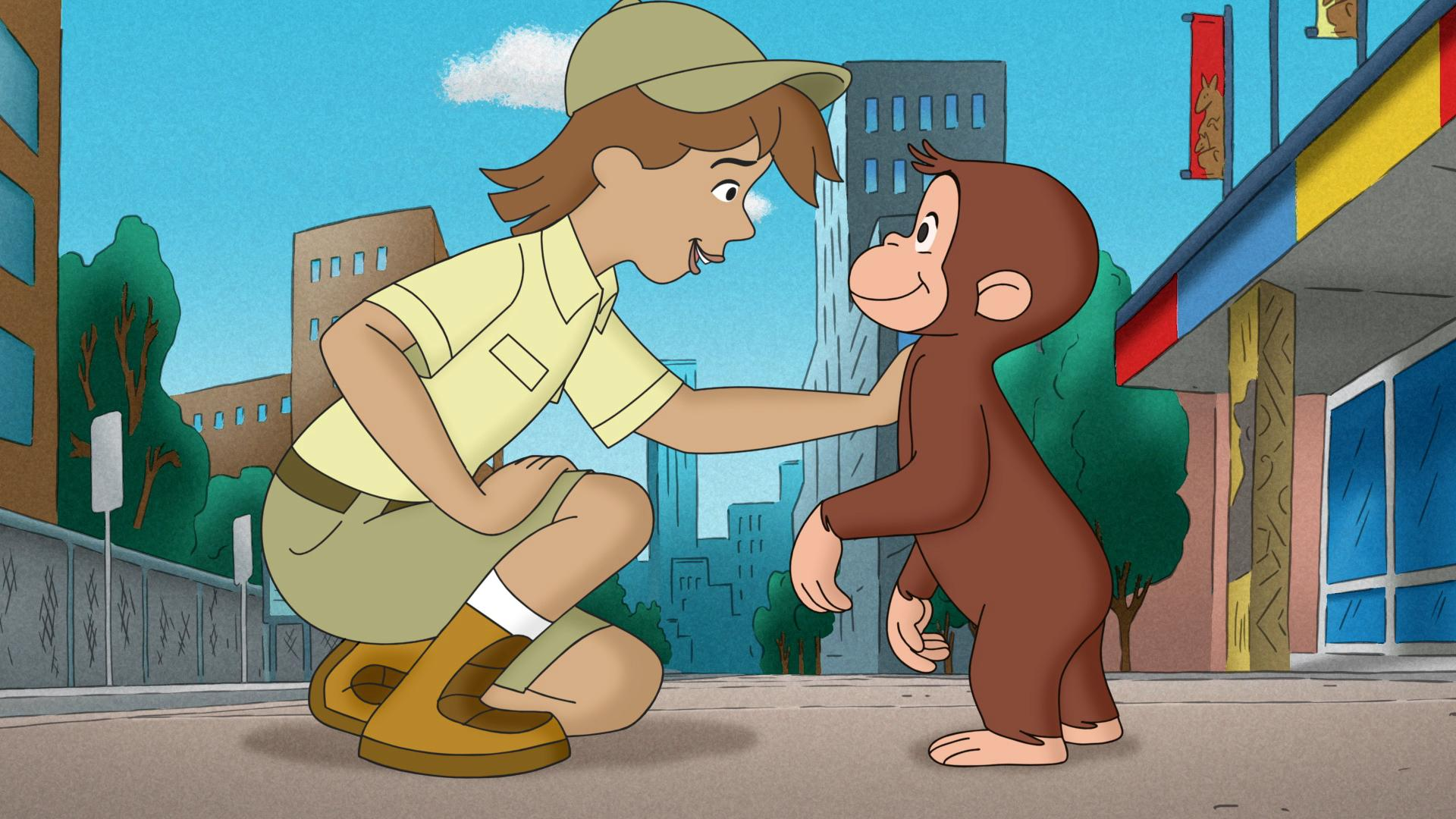PBS Kids Curious George takes an Australian Adventure December 3rd