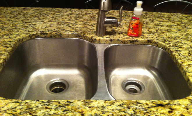 Add Sparkle To Your Home When You Shine Your Sink!