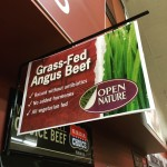 Seriously super excited @Albertsons is carrying Organic grass fed beef…