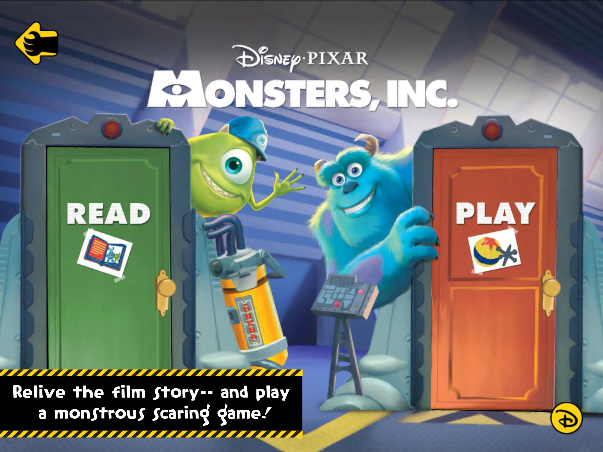 Disney-Pixar's Monster's, Inc., Storybook Review and Giveaway