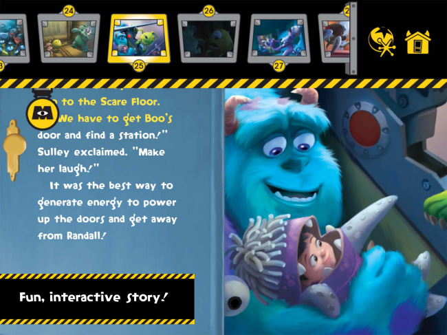 Disney-Pixar's Monster's, Inc , Storybook Review and
