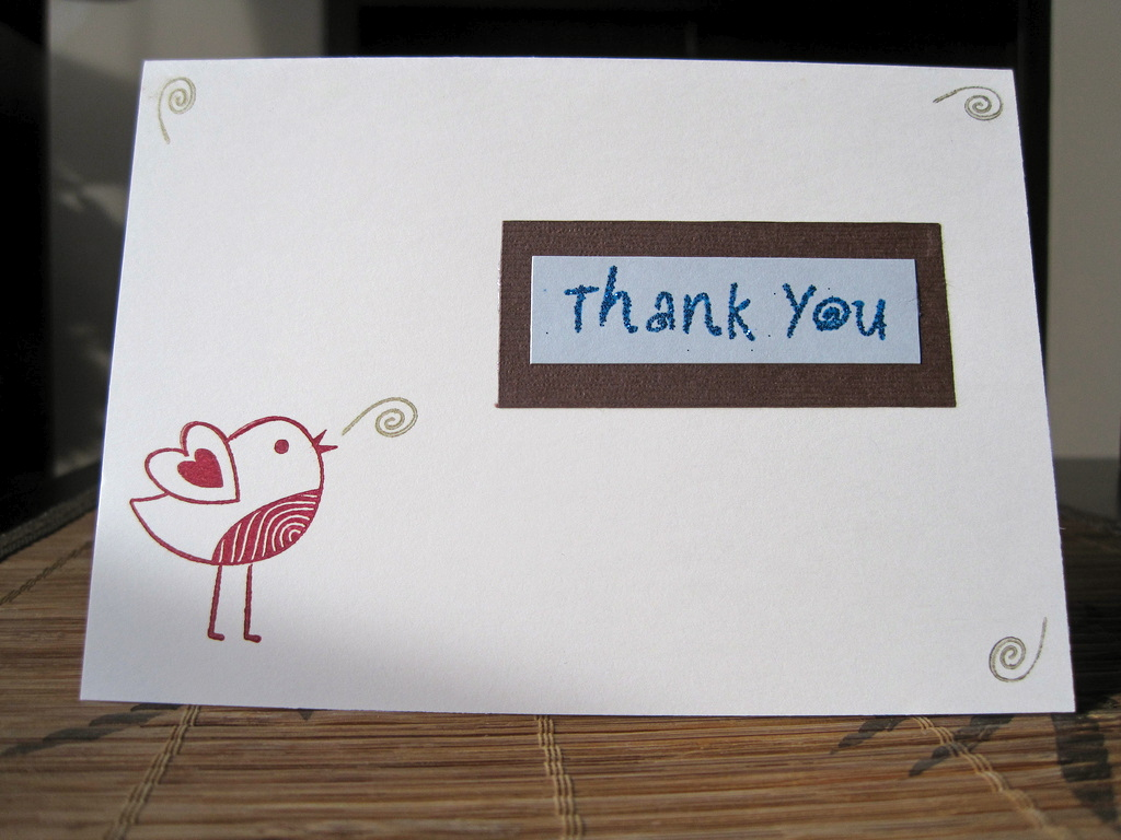 Thank You Notes – Why Good Manners Are Always in Style