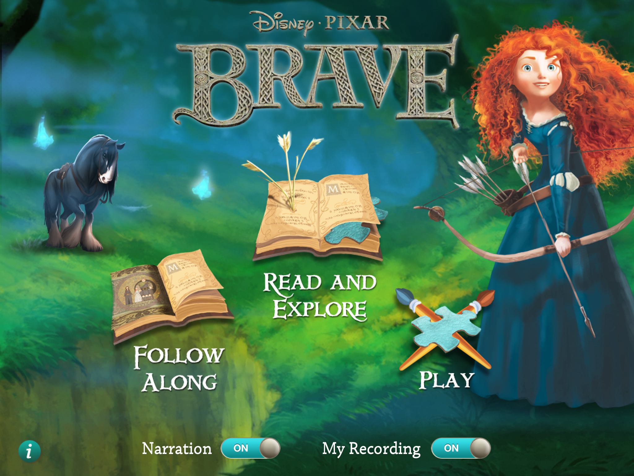 Disney Brave Storybook App Review and Giveaway
