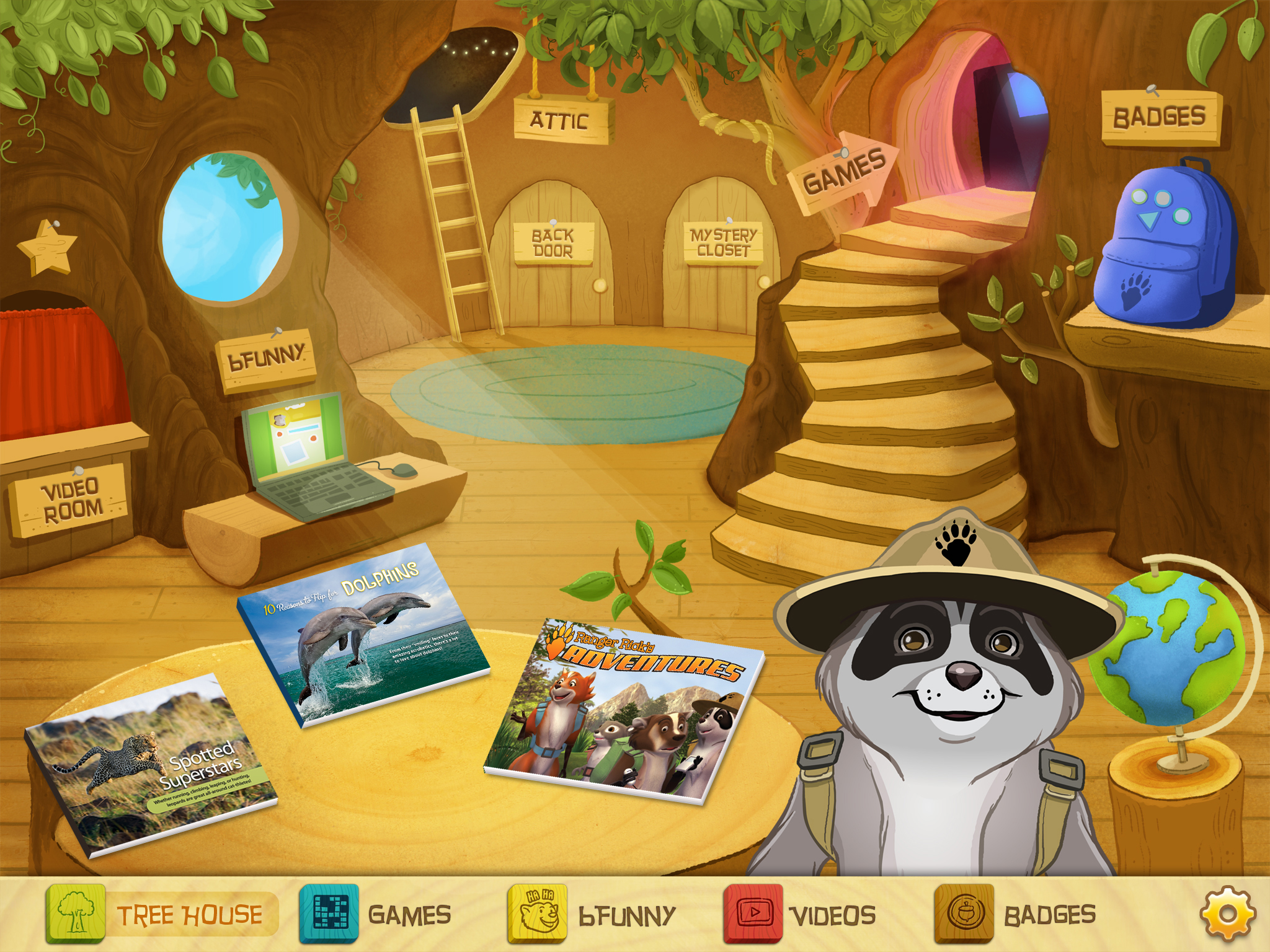 Ranger Rick's Tree House and Appventures Review and Giveaway