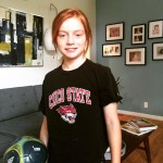 Off to soccer camp wearing my Alma mater T shirthellip