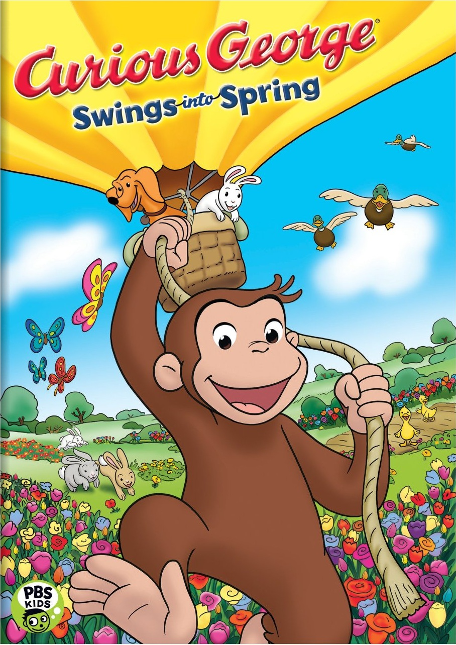 """PBS Kids Premieres """"Curious George Swings Into Spring"""" on Earth Day Review & Giveaway"""
