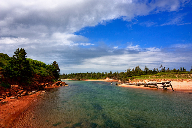 Searching for Sea Glass on Prince Edward Island