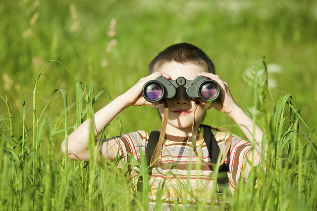 Image result for child birdwatching