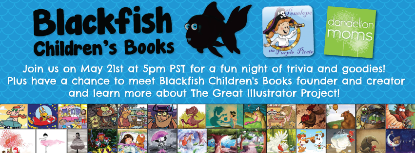 Blackfish Children's Books Facebook Party May 21st