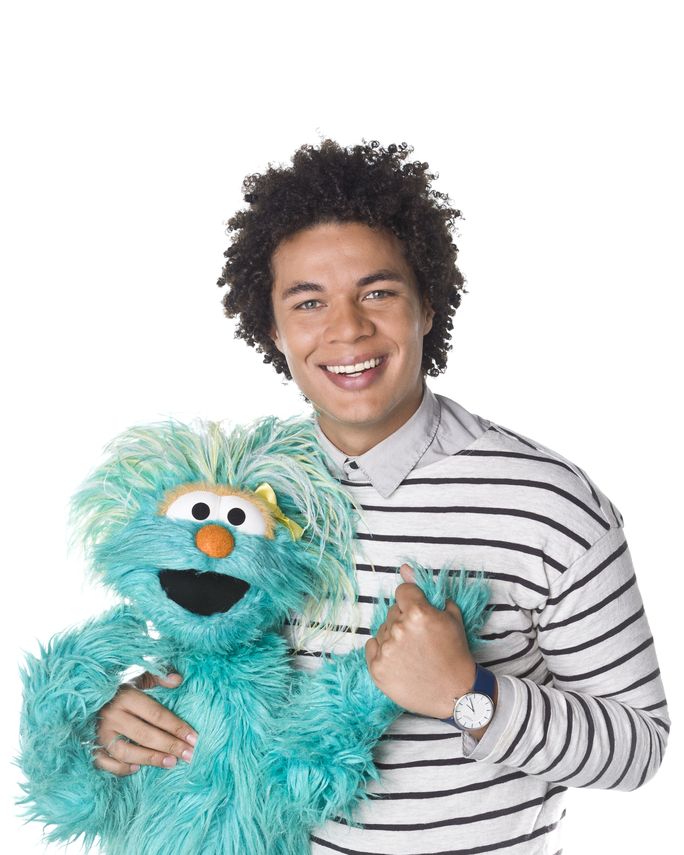 Introducing the new Sesame Street Character :: Mando!