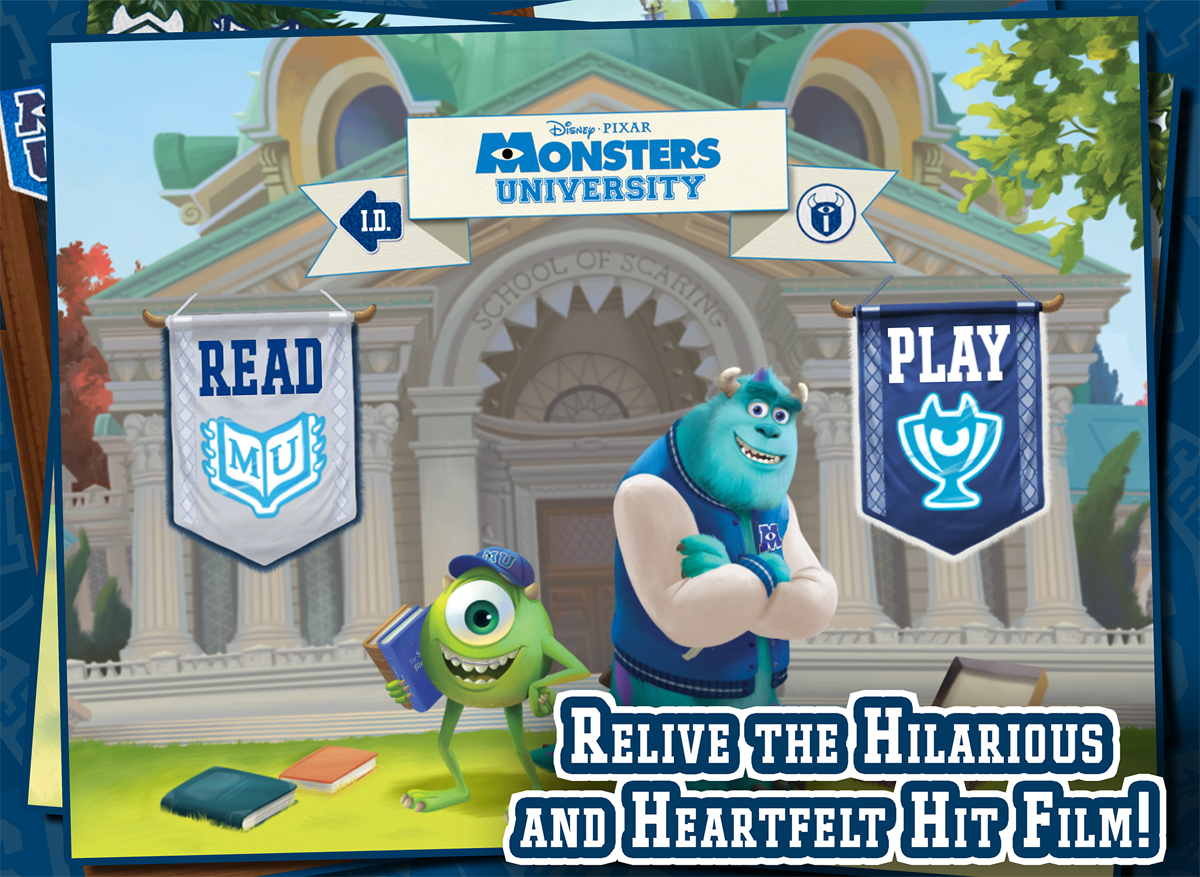 Disney's Monsters University Storybook Review & Giveaway