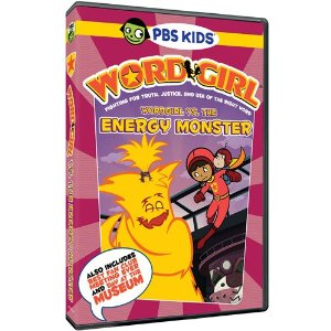PBS Kids WordGirl vs. The Energy Monster Review and Giveaway
