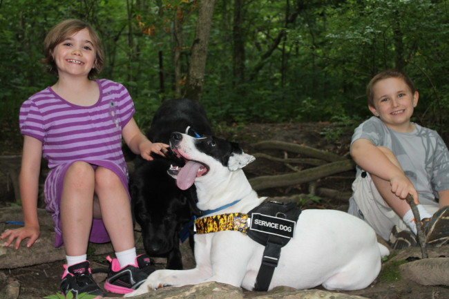 June 2013 Service Dog and Family pic for Dandelionmomsdotcom #6