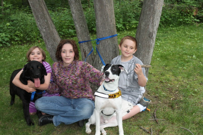 June 2013 Service Dog and Family pic for dandelionmomsdotcom #2