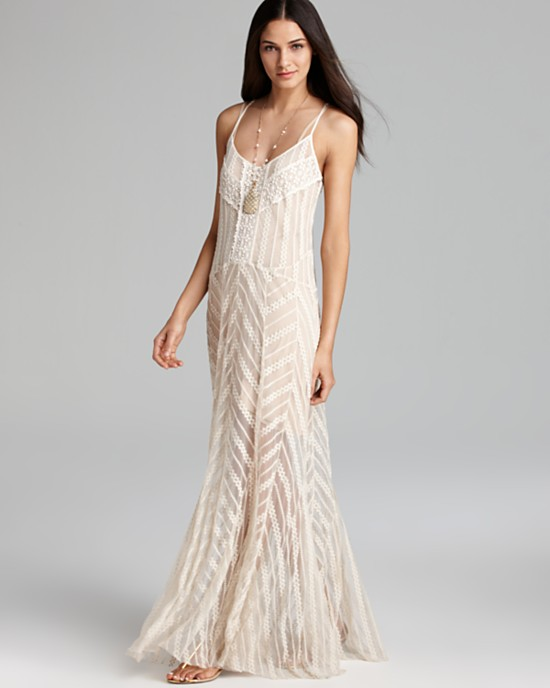 Fashion maxi dresses for summer for The loft dresses for a wedding