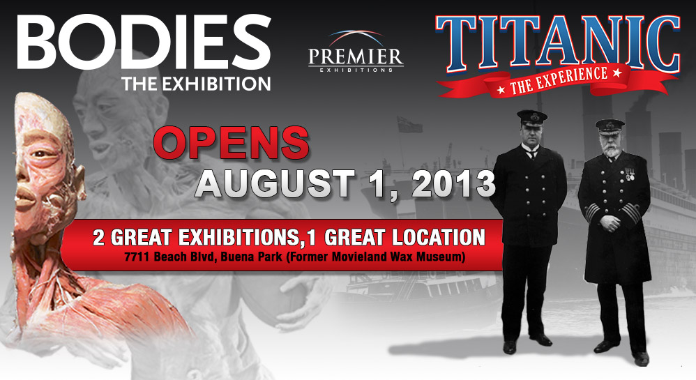 Culture :: The Titanic and Bodies Exhibition Tickets Giveaway