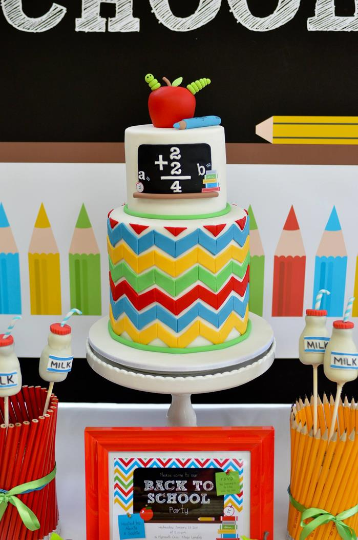 Play back to school party ideas for Back to school party decoration ideas