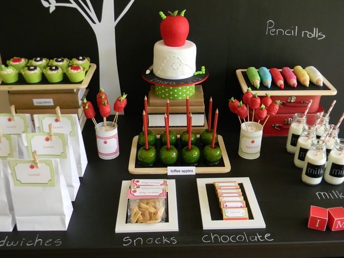 Play :: Back to School Party Ideas
