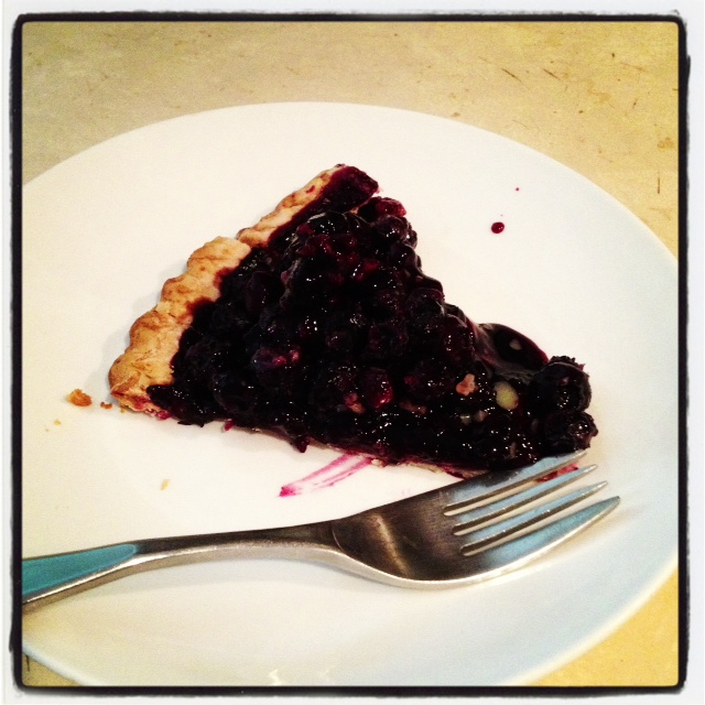 Instagram of the Day :: Blueberry Pie Makes My Heart Sing
