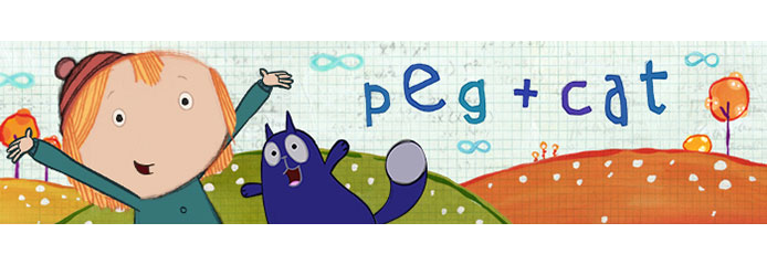 Latest & Greatest :: PBS Kids new show PEG+CAT Airs on 10/7
