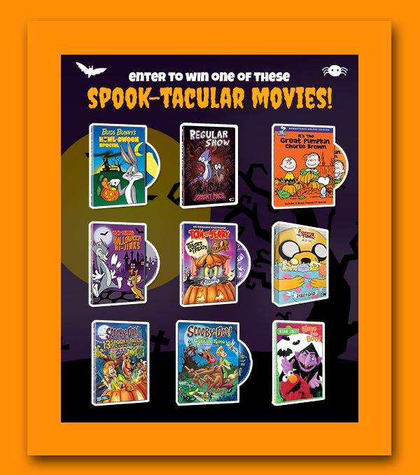 Warner Brothers Spook-Tacular Blog App Review & Giveaway