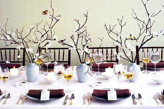 Gorgeous Holiday Table Setting Ideas