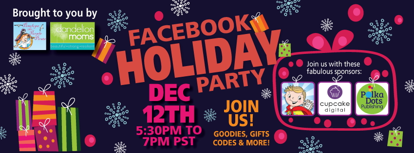 Dandelion Moms Holiday Facebook Party December 12th