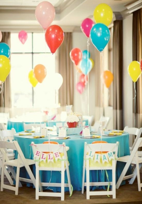 Party Ideas :: Balloons Make Any Party That Much More Fun!
