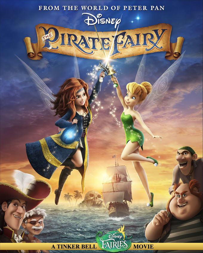 Disney's The Pirate Fairy Review and Giveaway