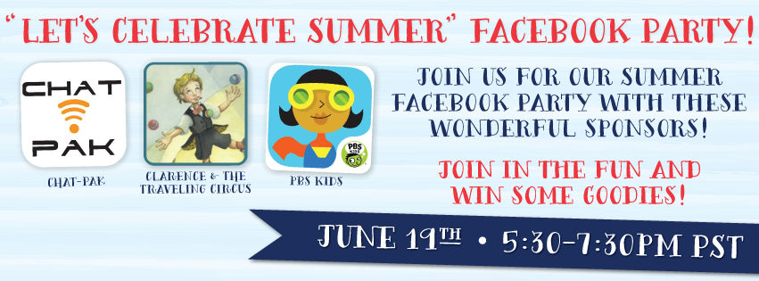 Join Our Summer Launch Facebook Party on June 19th