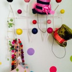 Hooks offer a great place to hang hats and backpacks.