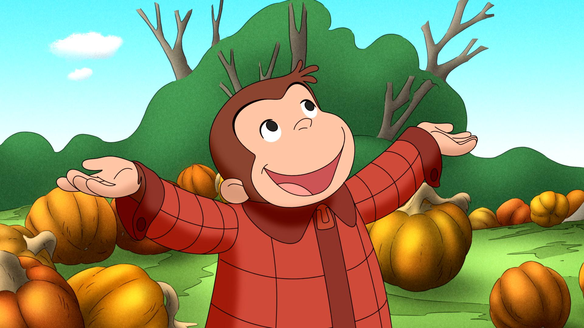 CURIOUS GEORGE: A Hallowen Boo Fest Premieres October 27th