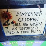 Every retail restaurant should have this sign! bogartscoffee sealbeach