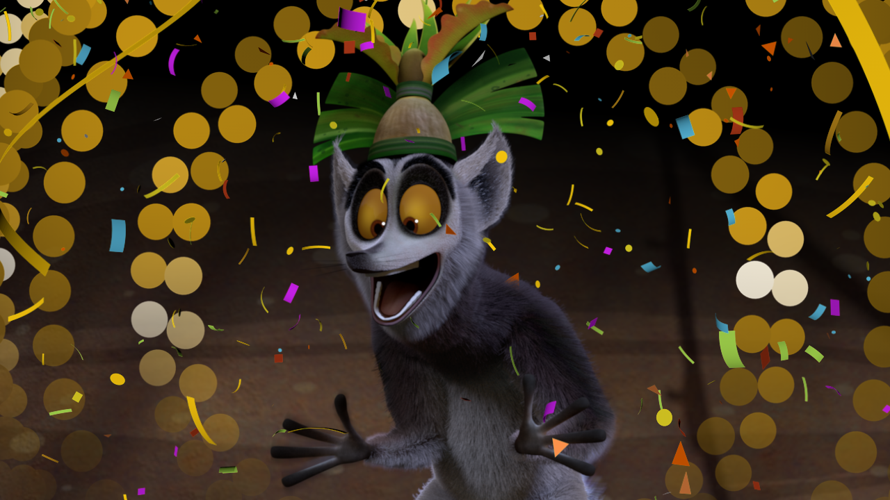 King Julien Hosts Dance Party & New Year's Eve Countdown On Netflix