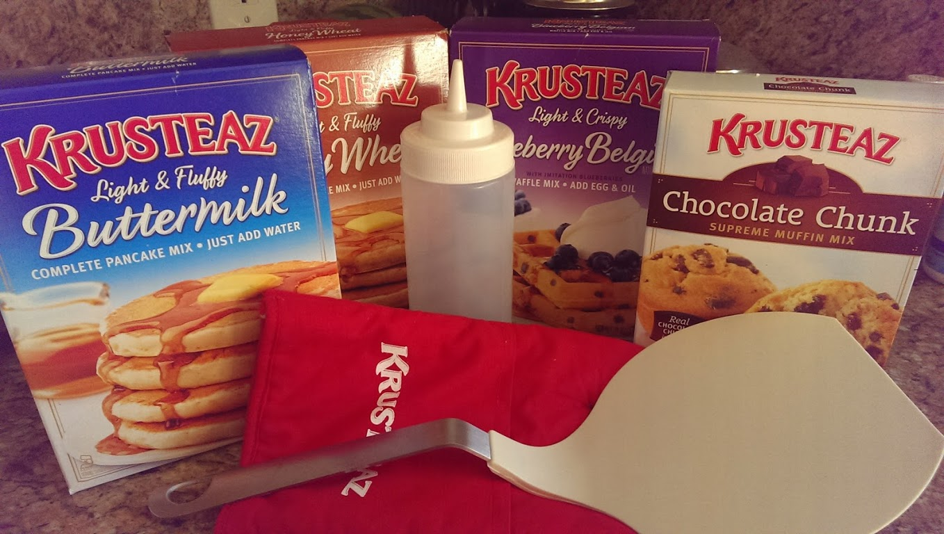 Breakfast for Dinner: Cooking with Krusteaz