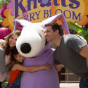 Knotts.BoysenberryFestivals.Easter Beagle with Dad Mom Daughter