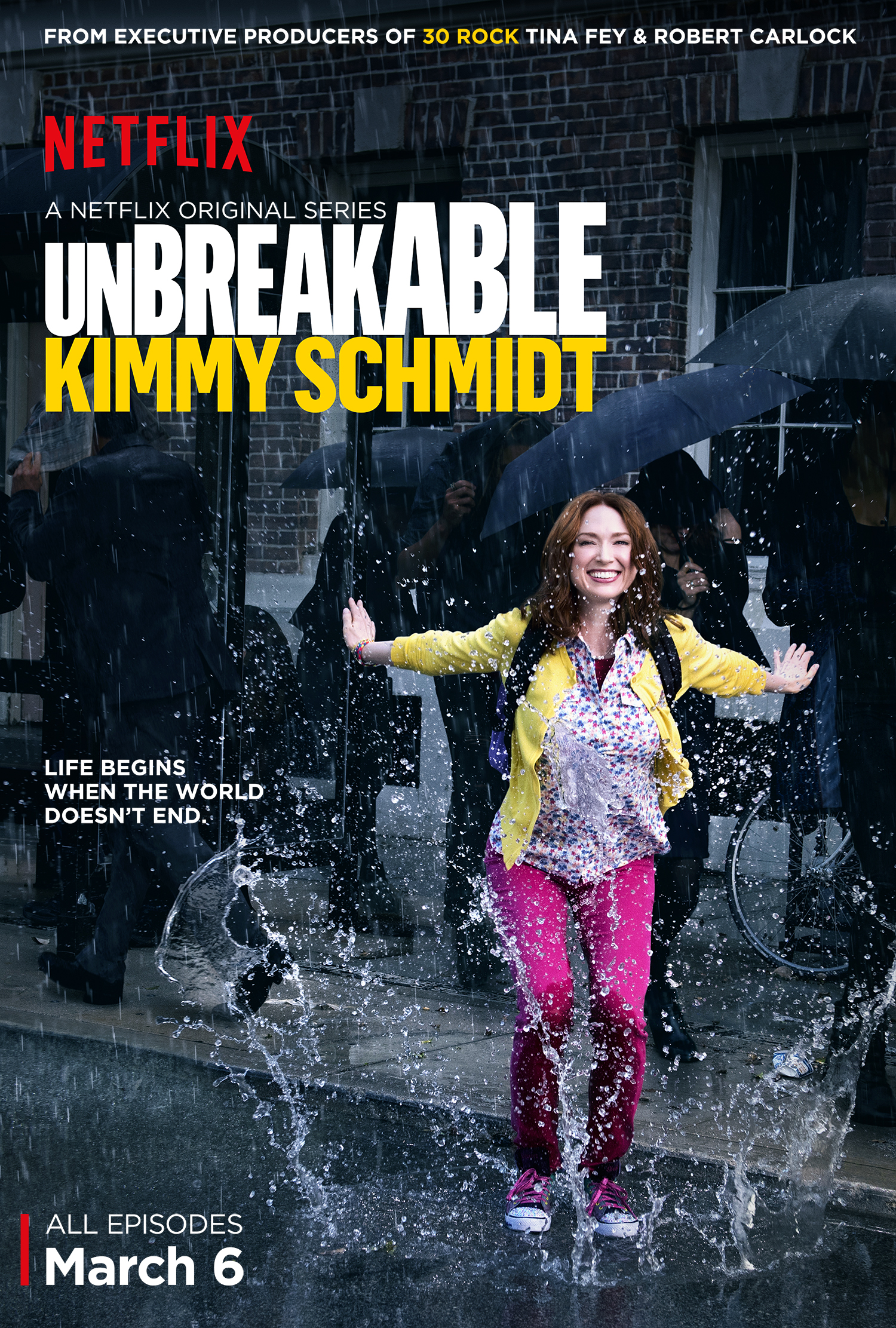 Netflix's New Series Unbreakable Kimmy Schmidt