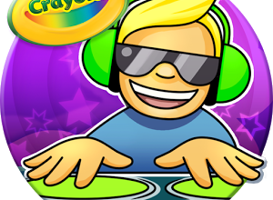 The Crayola DJ App Provides Hours of Entertainment
