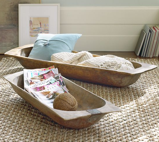 Dough Bowl Decorating Ideas Gorgeous Dwell  Fun Ways To Use Dough Bowls In The Home Decorating Design