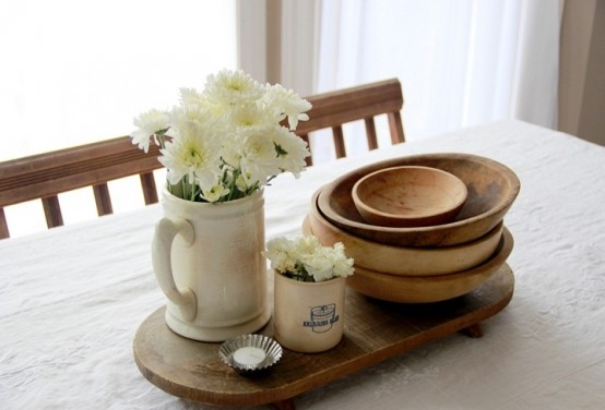 Dwell Woodentray Awesome Ideas To Use Dough Bowls