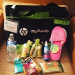 Loving the goodie bag HP and mariabailey! Loving the myprintlymomshellip