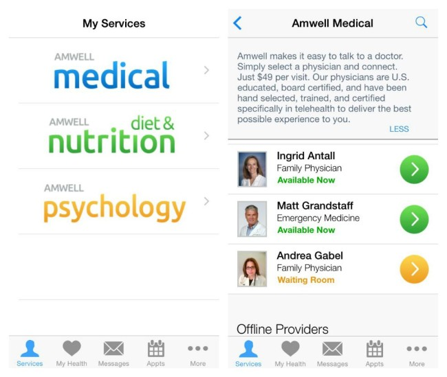 Answering Your Medical Questions just got easier with Amwell