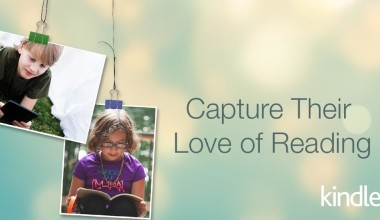 "Amazon's ""Capture Their Love of Reading"" Kindle Giveaway"