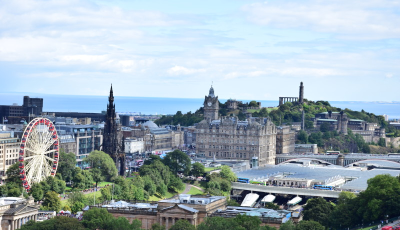 Looking For a Family Summer Destination? Visit Edinburgh, Scotland in August!