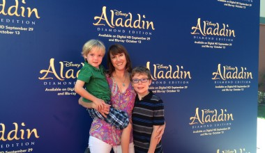 Aladdin Diamond Edition Preview at Walt Disney Studios